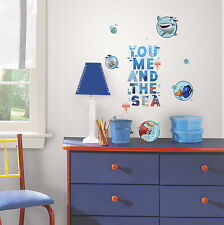 19 FINDING DORY QUOTE WALL STICKER  Disney Decals Kids Bedroom or Bathroom Decor