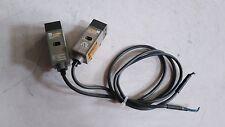 OMRON, Used / E3L-2DC4 + E3L-2LRC4 / Photoelectric Switch Sensor