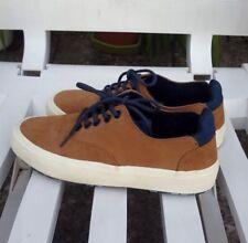 Zara Kids Collection Brown Suede Unisex Shoe Plimsolls Pumps Size 4 /36