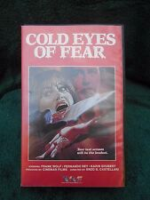 Cold Eyes of Fear (VHS, Hard Clamshell Box) Trans World Entertainment (U.S.A.)