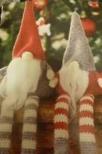 Crochet  Pattern Christmas Gnomes