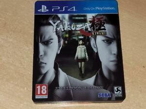 Yakzua Kiwami PS4 Playstation 4 Limited Steelbook Edition **FREE UK POSTAGE**