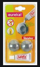 Metaltex Eureka Safefix System, Set Of 2