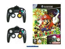## Mario Party 6 (Deutsch) + 2 Control Pads Nintendo GameCube // GC - TOP ##