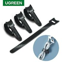 UGREEN Reusable Cable Ties, Travel Wire & Cord Straps Organizer Desk Management