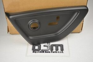 2005 Chevrolet Trailblazer GMC Envoy Drivers Ebony Black Power Seat COVER OEM