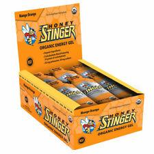 Honey Stinger Organic Energy Gel Box/24 Mango Orange