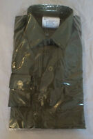 OLIVE GREEN GENERAL SERVICE LONG SLEEVE SHIRT - British army issue, New , SIZES