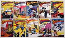 """(10) SUPERMAN COMICS 2"""" x 3"""" COVER MAGNETS - Superman #81-90"""