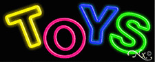 Brand New Toys 32x13x3 Real Neon Business Sign Withcustom Options 10137