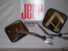 CJ mirror, CJ Laredo, CJ stainless steel mirrors