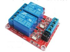 DC 12V 2-Channel Relay Module with Optocoupler H/L Level Triger for Arduino