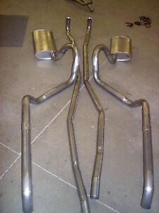 1966 PONTIAC GTO DUAL EXHAUST SYSTEM, 304 STAINLESS