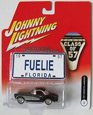 JOHNNY LIGHTNING - CLASS OF 57 - 1957 CHEVY CORVETTE HARDTOP pl #3