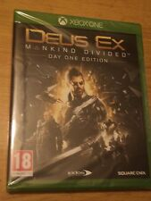 DEUS EX MANKIND DIVIDED DAY ONE EDITION (XBOX ONE) BRAND NEW AND FACTORY SEALED
