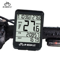 Bike Cycling Wireless LED Computer Odometer Speedometer Bicycle Waterproof USA