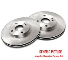 2 x BOSCH REAR AXLE BRAKE DISCS SET BRAKING DISCS PAIR OE QUALITY 0986479S64