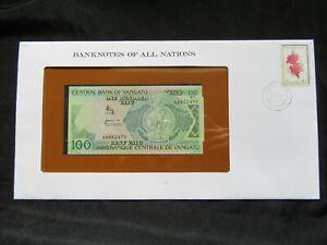 Vanuatu : 100 Vatu NEUF ; Banknotes of All Nations