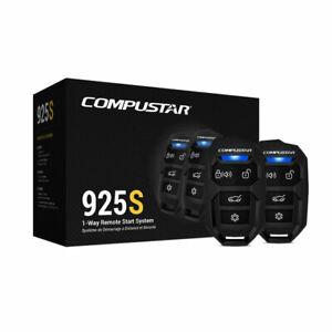 Compustar CS925S 1-Way Remote Start System W/Keyless 2-4 Button Remotes, 1500ft