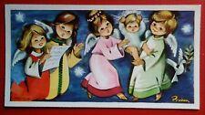 estampa felicitacion navidad  año 1965 holy card chritsmas