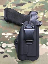 Black Kydex IWB Holster for Glock 17/22 Threaded Barrel RMR Cut TLR-1, TLR-1 HL