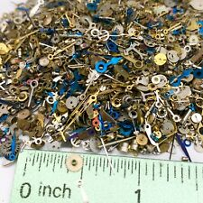 10 Grams Small Watch Parts Hands Steampunk Wheels Gears Tiny Nail Altered Art