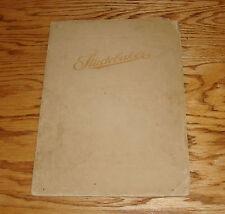 Original 1913 Studebaker Automobile Catalogue Deluxe Sales Brochure 13 25 35 Six