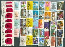 Guyana Group of 47 MNH Stamp Lot#4597