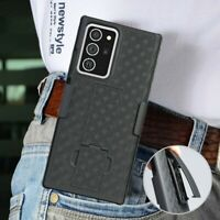 For Samsung Galaxy S20 Ultra 5G Heavy Hybrid Armor Holster Belt Clip Case Cover