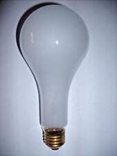 200watt Frosted Rough Service, 10k hour, Incandescent Bulbs (12)