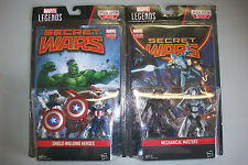 "Marvel Legends Mechanical Masters & Shield-Wielding Heroes 3.75"" Action Figures"