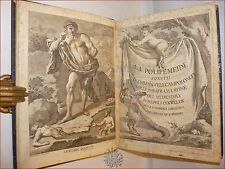 POLIFEMO - CAMPOLONGO, Emmanuele: La POLIFEMEIDE 1763 Napoli con Antiporta