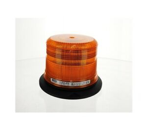 Trux TLED-W6 Medium Profile Amber LED Strobe Light with 36 Flash Patterns