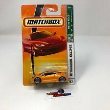 #1430  Mitsubishi Eclipse #33 * Orange * Matchbox * JD23