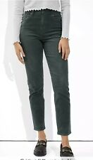 NWOT AMERICAN EAGLE OUTFITTERS Women's Pants Gray Corduroy Super Stretch Size 6