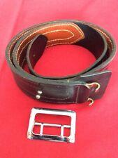 Hunter Black Leather Belt Sam Brown No33 1 42 Police Duty Uos 732