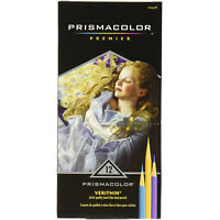 Prismacolor Verithin Colored Pencils, Assorted Colors, 12-Count