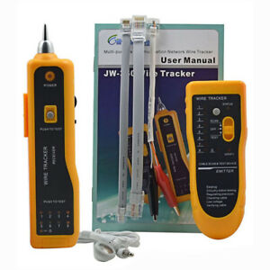 JW-360 NETWORK WIRE LINE CABLE TRACKER LINE TESTER w/ TONE GENERATOR Detector