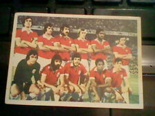 BENFICA football team  PORTUGAL SPANISH card ED.  FHER 1975 never used    TEAM