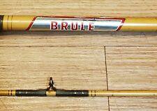"Vintage Brule Custom Craft Spinning Rod 6'6"" Iron River, Wis - Nice"