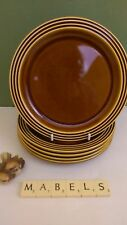 Unboxed Earthenware Hornsea Pottery Side Plates