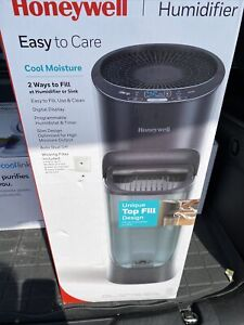 Honeywell Top Fill Tower Humidifier With Digital Humidistat White HEV620W