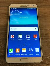 Samsung Galaxy Note 3 SM-N900P - (Sprint) Smartphone - cracked glass, works