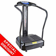 2000W Whole Body Vibration Machine Exercise Plate Platform Massager Music