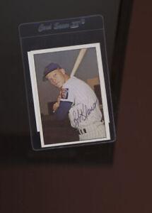 Bob Klaus 1964 New York Mets signed TCMA The 1960's  Beckett auth