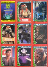 Teenage Mutant Ninja Turtles II TMNT - Complete Card Set (99) - 1991 Topps - NM