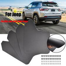 4x Mud Flaps Mudflaps Mudguards Splash Guards For Jeep All Models Fender Flares