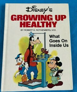 Walt Disney's Growing Up Healthy Book - What Goes On Inside Us. FREE P&P. 1976