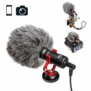Original BOYA BY-MM1Cardioid Microphone MIC for DSLR Camera Smartphone Camcorder
