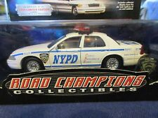 Road Champs 1999 NYPD NYC New York Police Crown Vic 103 Pct Queens 1:43 O Scale